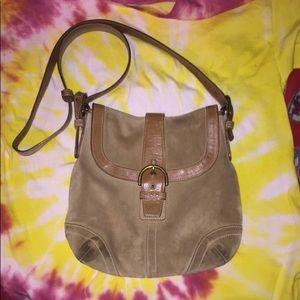 Coach satchel shoulder bag